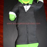 Gumby Grooms Cake