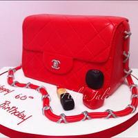 Chanel handbag by helen Jane Cake Design
