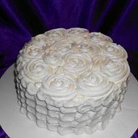 ROSETTE/PETAL CAKE by Rita's Cakes