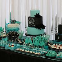 wedding cake bar