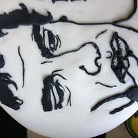 Homage to ayrton senna  by Bubba's cakes