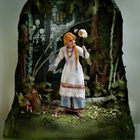 "Cake ""Vasilisa The Beautiful"""
