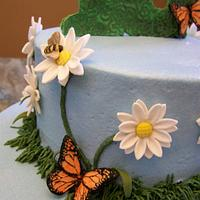 Daisies, Butterflies, and Bumblebees