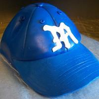 Baseball Cap by Tracy's Custom Cakery LLC