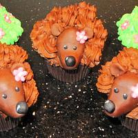 hedgehogs by d and k creative cakes
