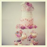 vintage mini cupcake