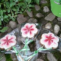 Flower cookies by Gabriela Angelova