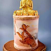 Golden Buddha - Beautiful Sri Lanka Collaboration