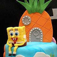Julian's Spongebob Cake