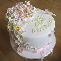 Cat family cake