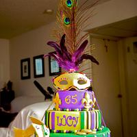 Mardi Gras 65th Birthday