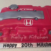 Honda vtec cake