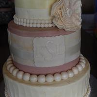 Vintage Birthday Cake by Deborah