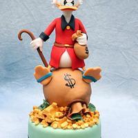 Uncle Scrooge MC Duck by Cesare Corsini