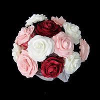 Valentine's Day Mini Cupcake Bouquet by Tammy