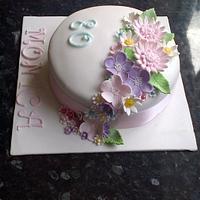 Flower spray by nannyscakes