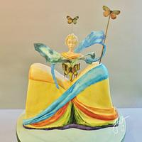 Queen of the Butterflies - Dali in Sugar