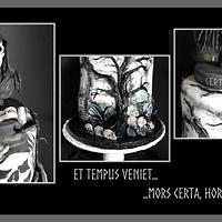 "My ""ET TEMPUS VENIET 3D CAKE"""