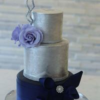 Celestial Love Wedding Cake