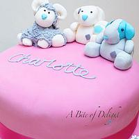 Tatty Teddy Friends Birthday Cake