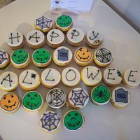 Halloween Cookies & Cupcakes