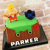 Clash of Clans Cake