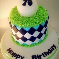 golfers cake by jodie
