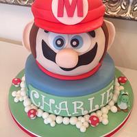 Super Mario - 4th birthday cake