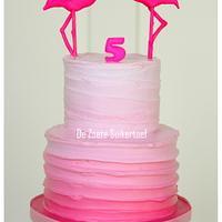 Flamingo cake...