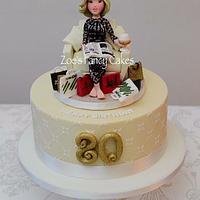 Shopaholics Cake
