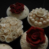 20th Anniversary Cupcakes