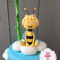 Maya The Bee Fondant Figur