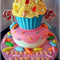Sweet 16th cake