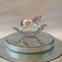 Rocking horse/unicorn topper