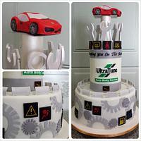 Auto Repair Cake