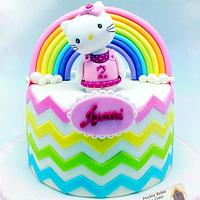 Over The Rainbow With Hello Kitty!