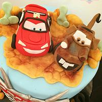 Cars Cake by CakeyBakey Boutique