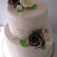 Wedding & Roses by Just Because CaKes