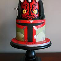 Darth Birthday Cake