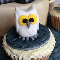 Harry Potter themed cake & cupcakes by Sugar Sweet Cakes