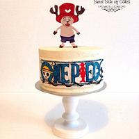One Piece Anime Cake