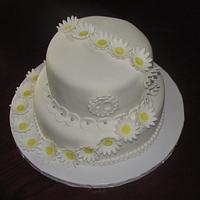 Daisy Anniversary cake
