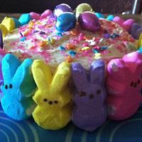 Little Peeps Cake