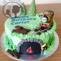 Percy Engine Cake by Gemma Harrison