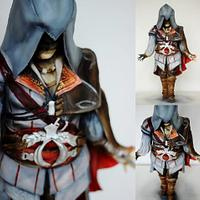 Assassins Creed Sculpted cake