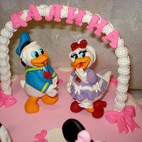 Minnie,, Mickey, Donald and Daisy by Svetlana Hristova