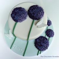 Allium Cake