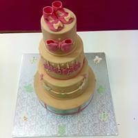 Sweet cake Baby girl.