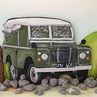 Land Rover Defender Cake