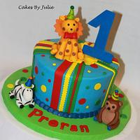"""Vegan"" Cute Animals for a 1st Birthday.."